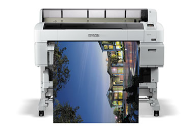 Epson T5200 impression grand format